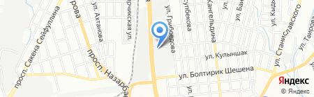 Моллир на карте Алматы