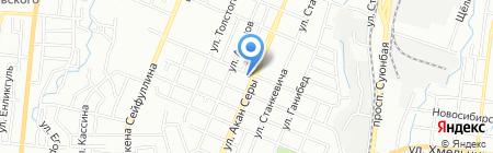 Ахтамар на карте Алматы