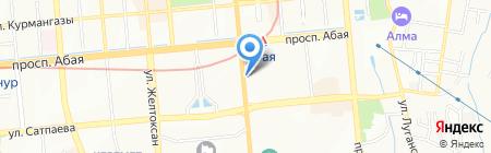 БиржаБар на карте Алматы