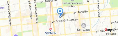 Colibri Kazakhstan на карте Алматы