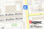 Схема проезда до компании GAISSINA в Алматы