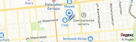 Ноэль на карте Алматы