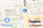 Схема проезда до компании Notebook-almaty.kz в Алматы