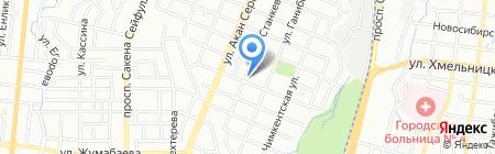 Садыхан Премиум на карте Алматы