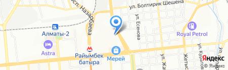 SV на карте Алматы