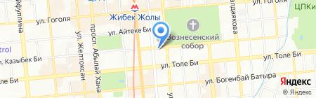 Графит-Петролеум ТОО на карте Алматы