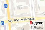 Схема проезда до компании InterPress-International House в Алматы