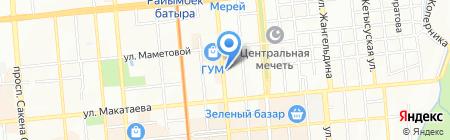 ГЕМ на карте Алматы