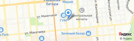 Alcatel-Lucent Кazakhstan на карте Алматы