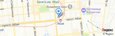 Azimut на карте Алматы