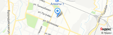 Шоколад project group на карте Алматы