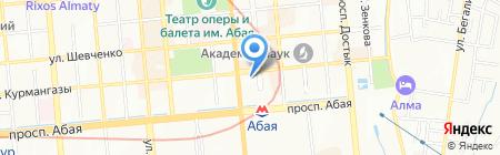 Дом приёмов на карте Алматы