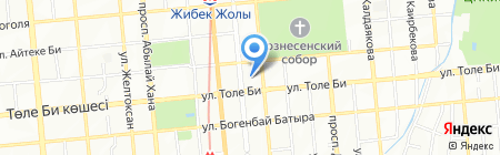 Alfa club на карте Алматы