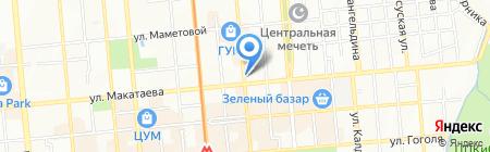 Стимул на карте Алматы