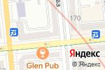 Схема проезда до компании Raffaello в Алматы