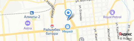 ORIENT LOGIST GROUP на карте Алматы