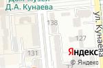 Схема проезда до компании Иртыш в Алматы