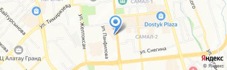 Pony Express на карте Алматы