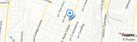 Фемида на карте Алматы
