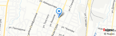 Марианна на карте Алматы