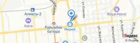 СЕДЬМОЕ НЕБО на карте Алматы
