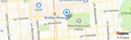 Арасан на карте Алматы
