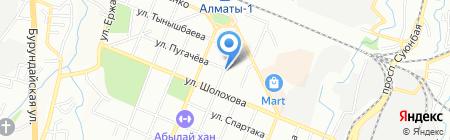 Банкомат Банк ЦентрКредит на карте Алматы