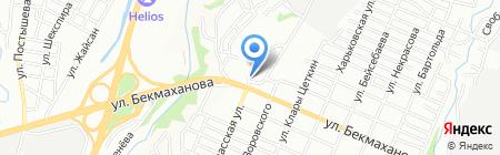 Наташа на карте Алматы