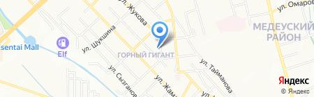 Общеобразовательная школа №77 на карте Алматы