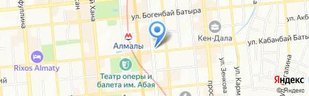 Hermes на карте Алматы