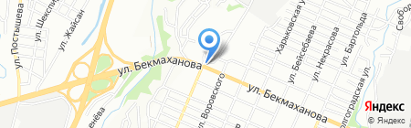 МАКС ДОРСТРОЙСЕРВИС-21 на карте Алматы