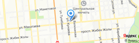 Ханшайым на карте Алматы