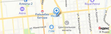 Лаборатория автостекла торгово-сервисная компания на карте Алматы