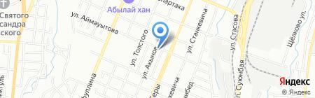 Оптима на карте Алматы