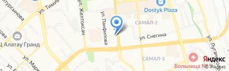 Аргымак на карте Алматы
