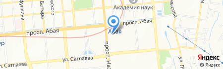 AD-Market на карте Алматы