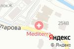 Схема проезда до компании Mediterra в Алматы