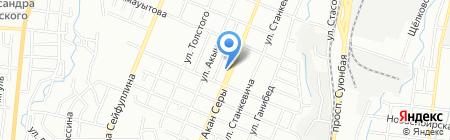 Бакыт на карте Алматы
