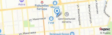 Императрица на карте Алматы