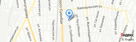 Шоколадное ателье на карте Алматы