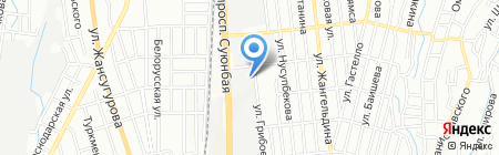 Гравер на карте Алматы