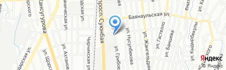 Казэлектрощит на карте Алматы