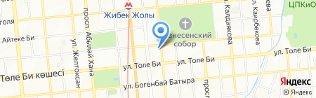 GLOBAL AIR на карте Алматы