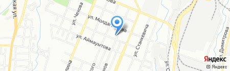Тип-Топ Академия на карте Алматы
