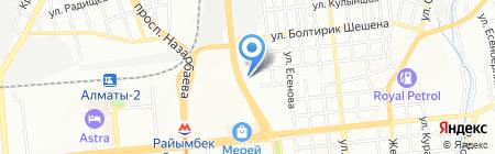 Медремзавод на карте Алматы
