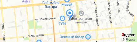 Алматинская городская коллегия адвокатов на карте Алматы