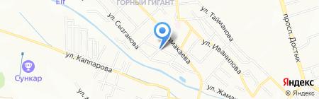 GREEN WAVE Holding на карте Алматы