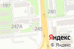 Схема проезда до компании Арна в Алматы