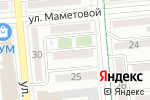 Схема проезда до компании Знайка в Алматы