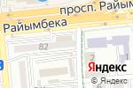 Схема проезда до компании Formula7 в Алматы